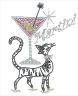 Cat Martini