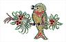 Christmas Bird On a Branch