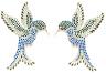 Hummingbirds (set of 2)